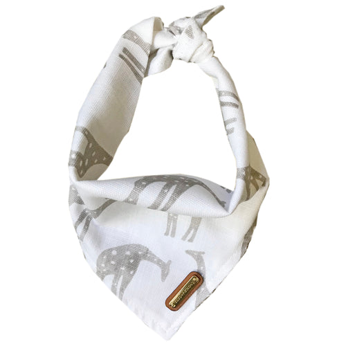 Safari Dog Bandana Dog Bandana- Coco and Pistachio