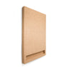 Design Cork board portrait side view - Corkframe