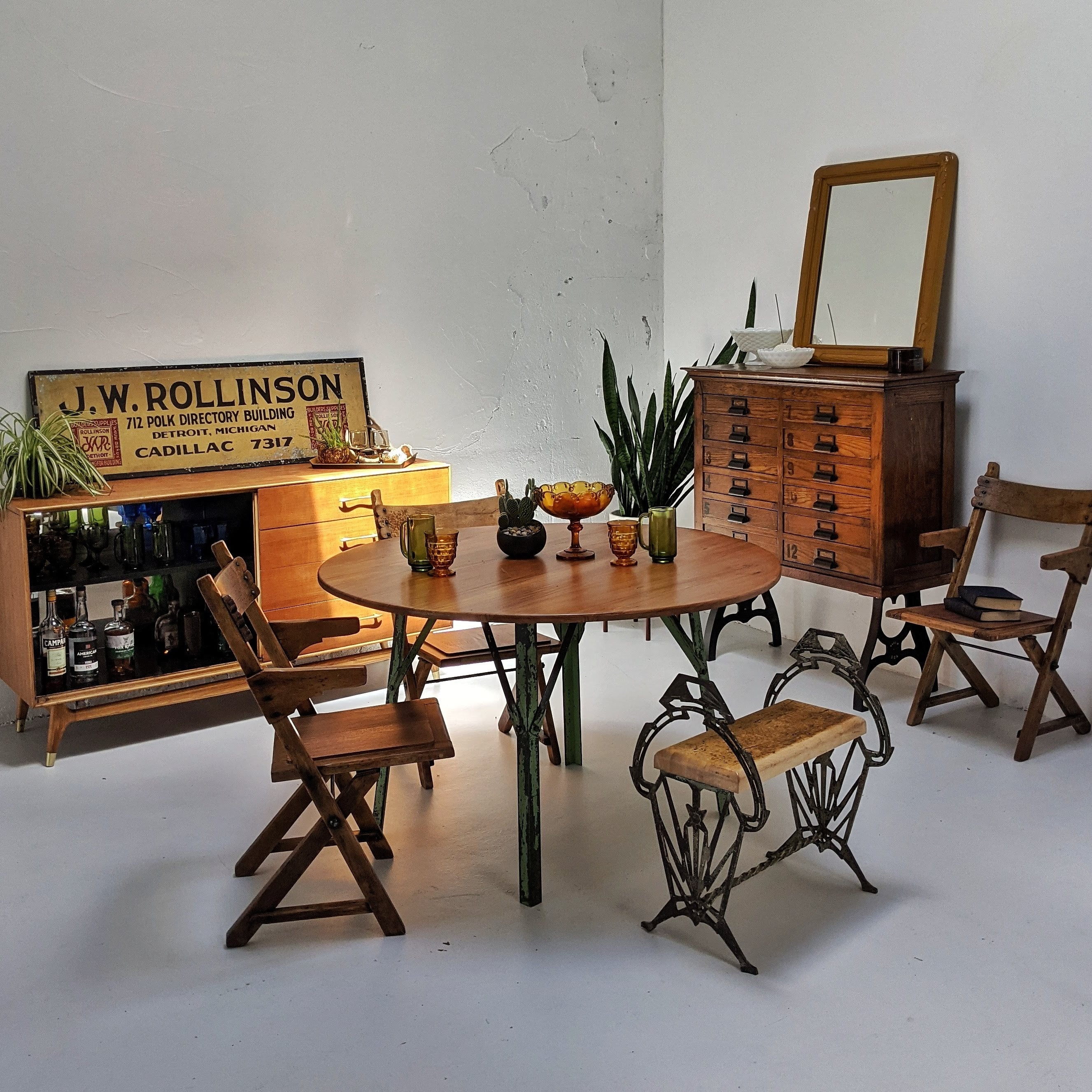 staged-dining-room-table-chairs-cabinet