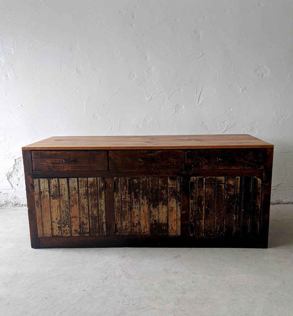 Distressed Cabinet - Made in Detroit