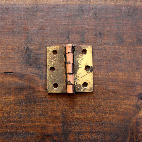"Salvage Brass 3"" Hinge - Made in Detroit"
