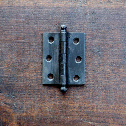 "Salvage Black 2.5"" Hinge - Made in Detroit"