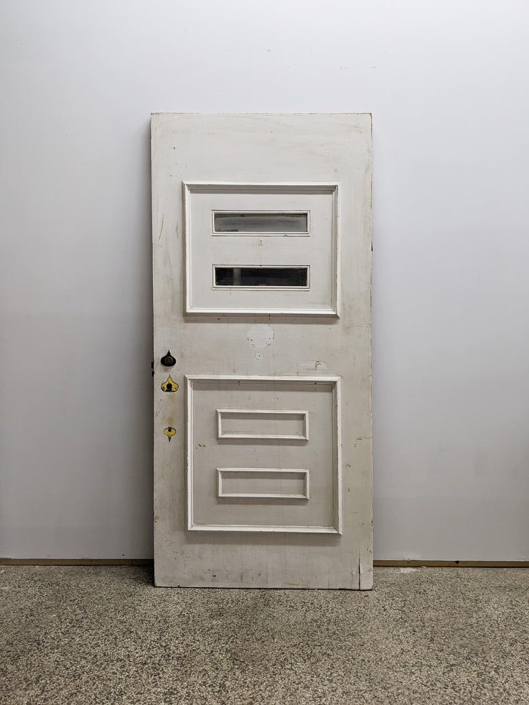 Salvaged Mid-Century Modern Door - Made in Detroit