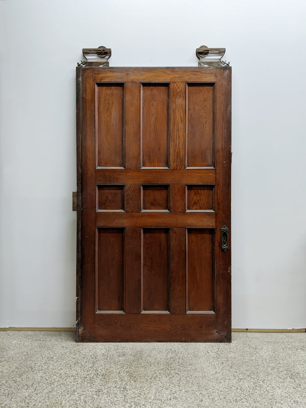 Salvaged Pocket Door - Made in Detroit