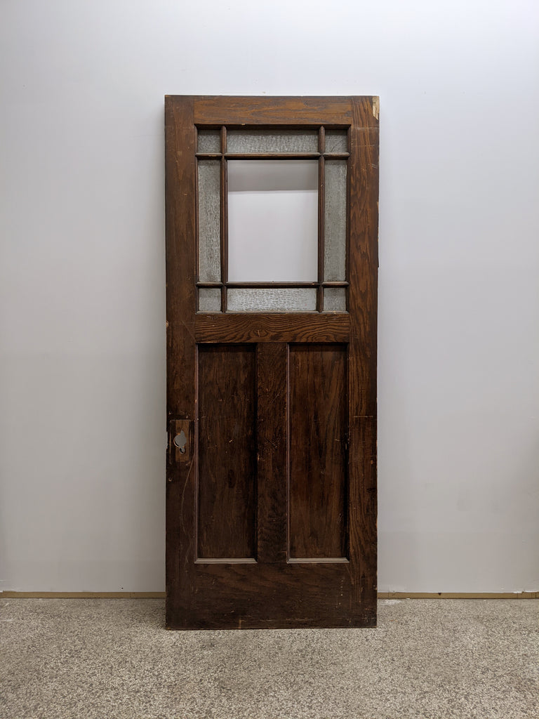 Salvaged Principal Door - Made in Detroit