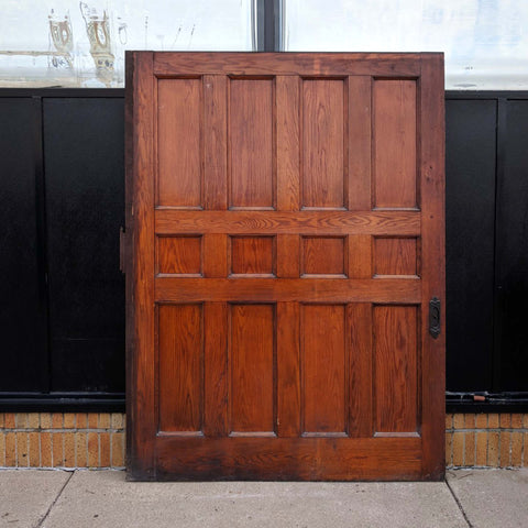 Salvaged Pocket Door