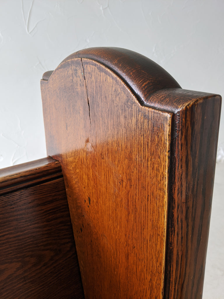 Quarter Sawn Church Pew - Made in Detroit