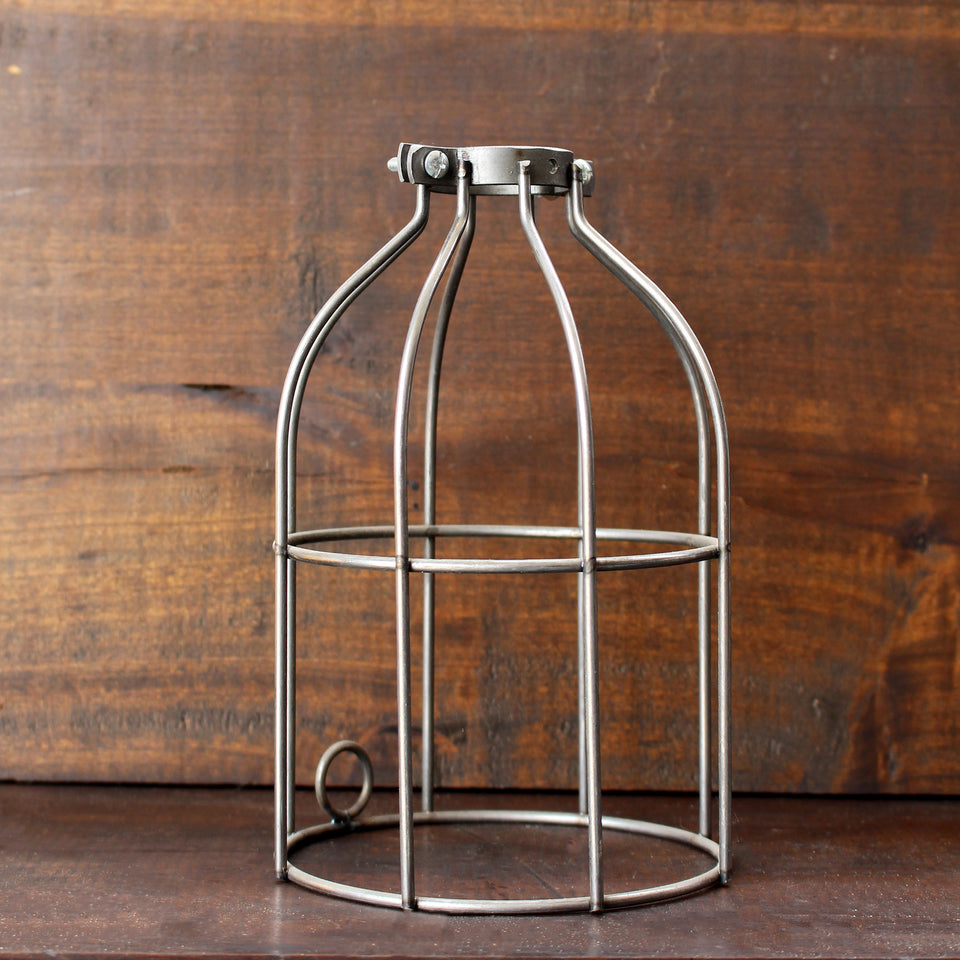 Steel Lamp Cage - Made in Detroit