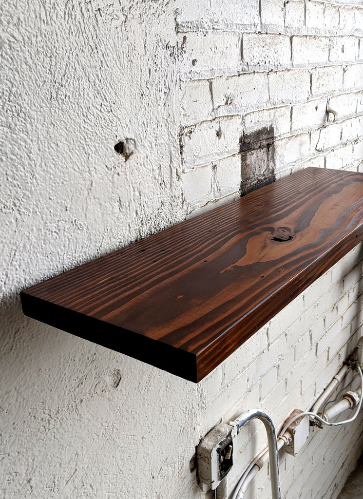 Java Reclaimed Wood Shelf - Made in Detroit