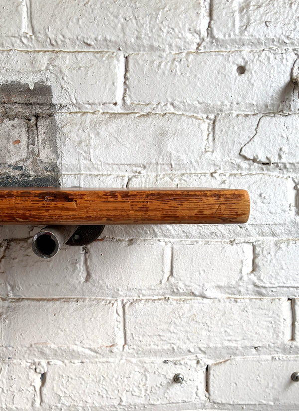 Bleacher Reclaimed Wood Shelf - Made in Detroit