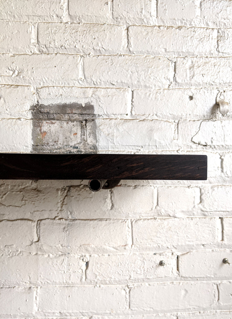 Smokehouse Reclaimed Wood Shelf - Made in Detroit