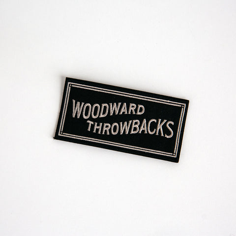 Woodward Throwbacks Patch - Made in Detroit