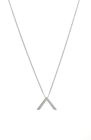 "Chevron ""V"" Necklace"
