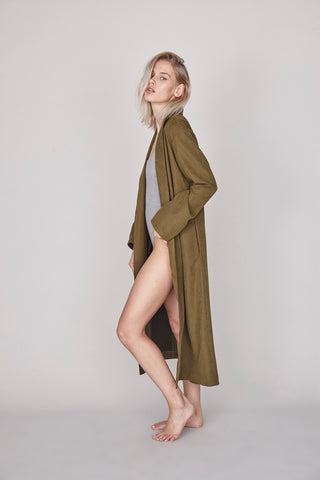The Pernille Coat - Khaki