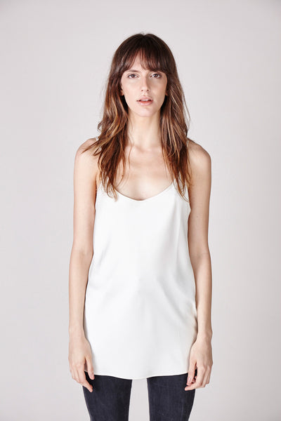 The Sadie Camisole - White - The Minimalist Directory - 2