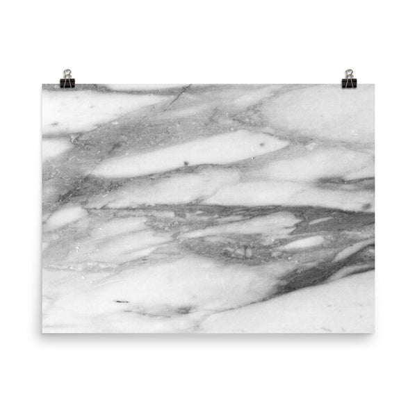 White Marble - Poster