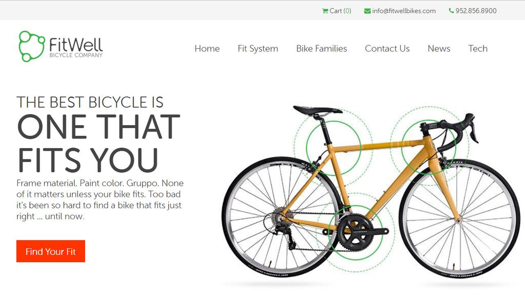 The New FitWellbikes.com is live