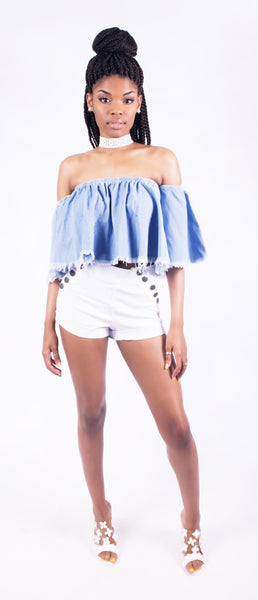 Frayed Crop Top