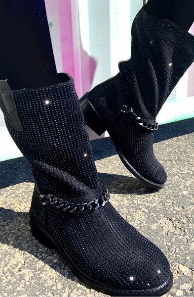 Atalina Chain Bootie