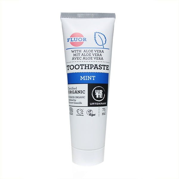 Urtekram Mint toothpaste with Fluoride