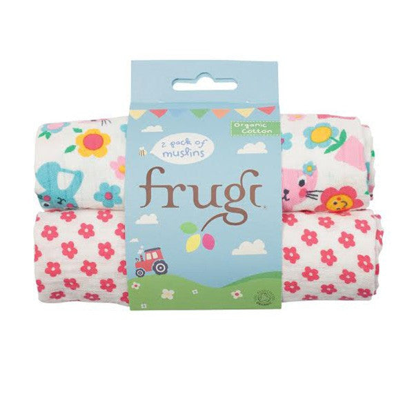 Frugi Organic Muslins - Cat Friends