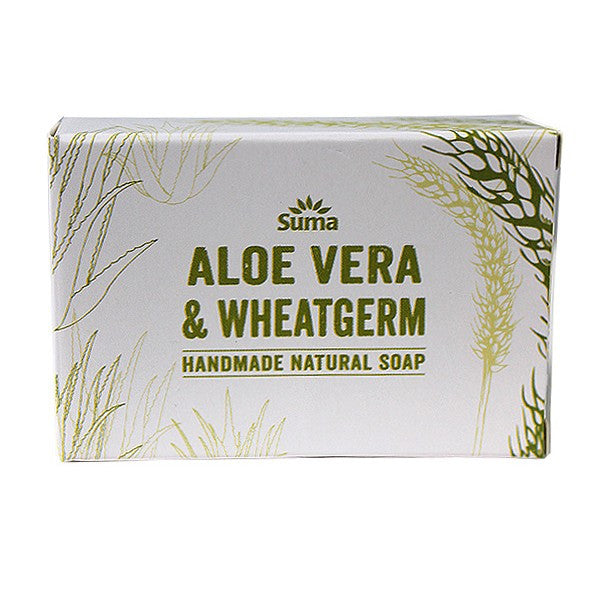 Suma Handmade Aloe Vera and Wheatgerm Soap