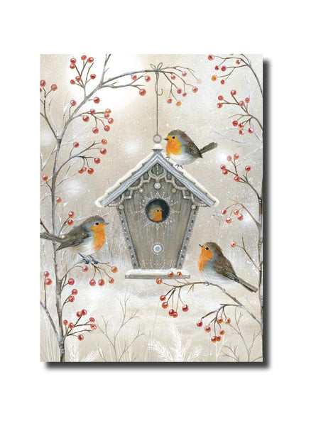 Christmas Cards - Robins