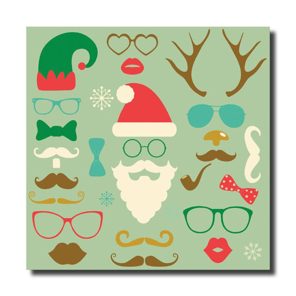 Christmas Cards - Festive Faces