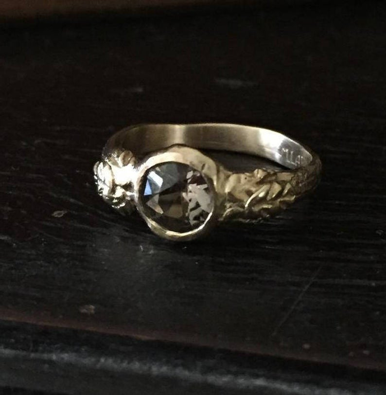 Acanthus Leaf Ring