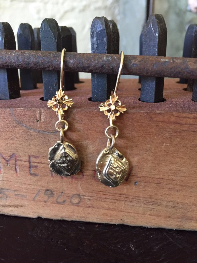 Tile - Ancient relic earrings