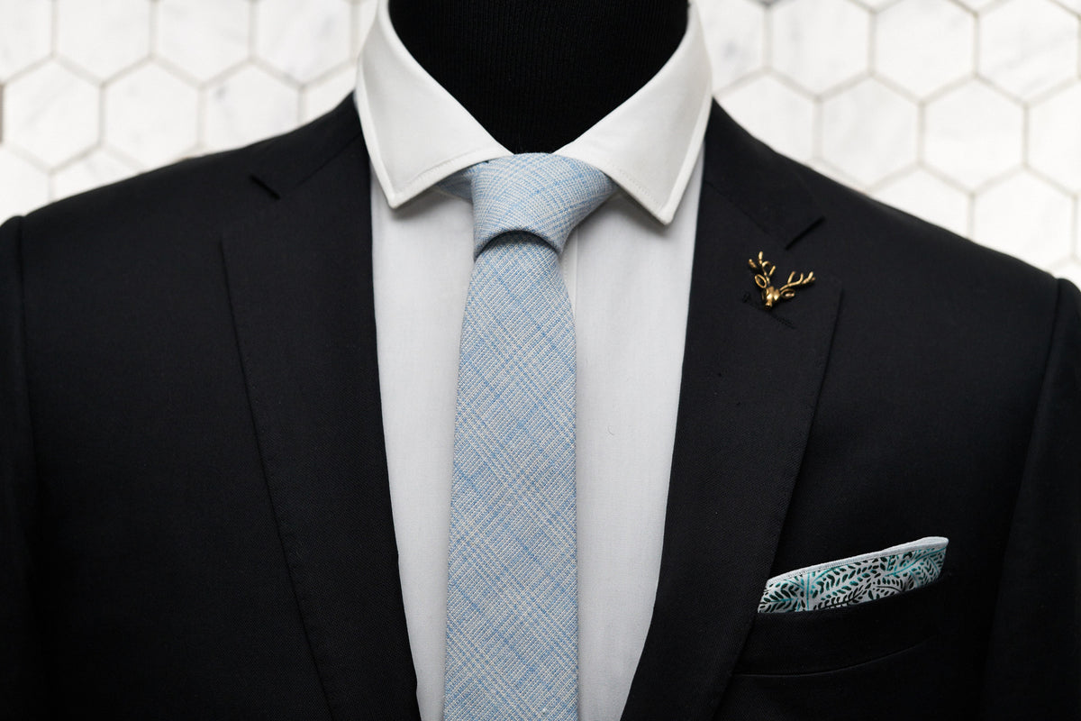 3895bd7fbae4 ... plaid skinny tie, which features; A dapper display of the Dear Martian,  Tiffany blue blended tie paired with the Whitman