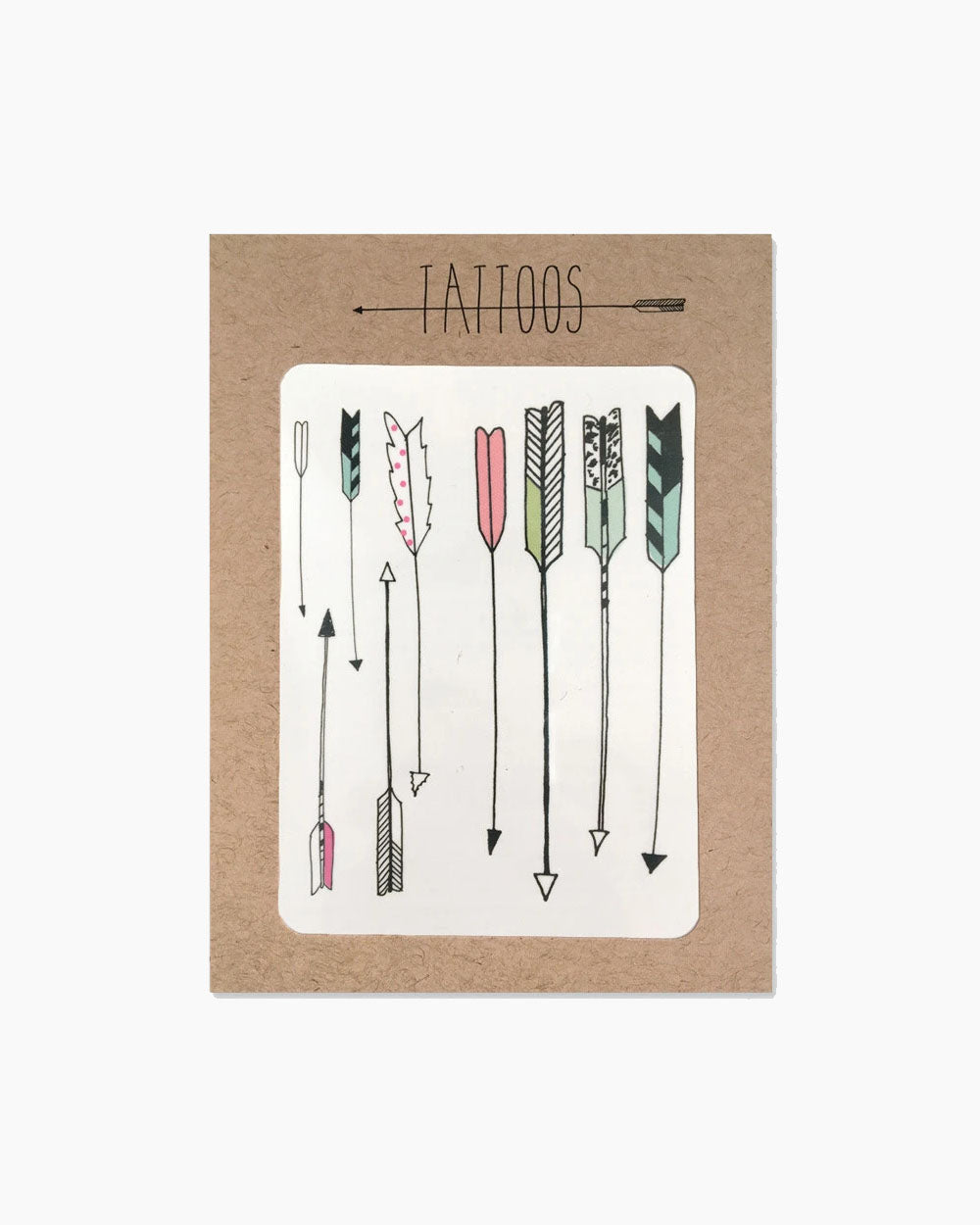 Arrow Temporary Tattoos