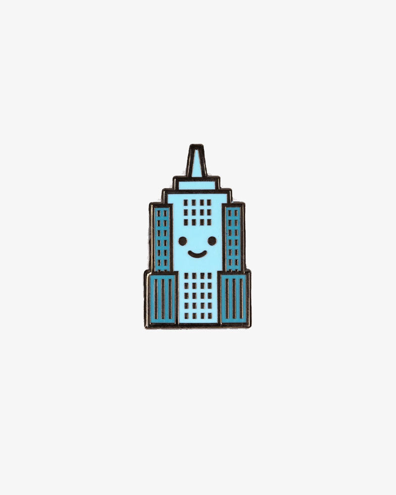 NYC Empire State Baby Enamel Pin