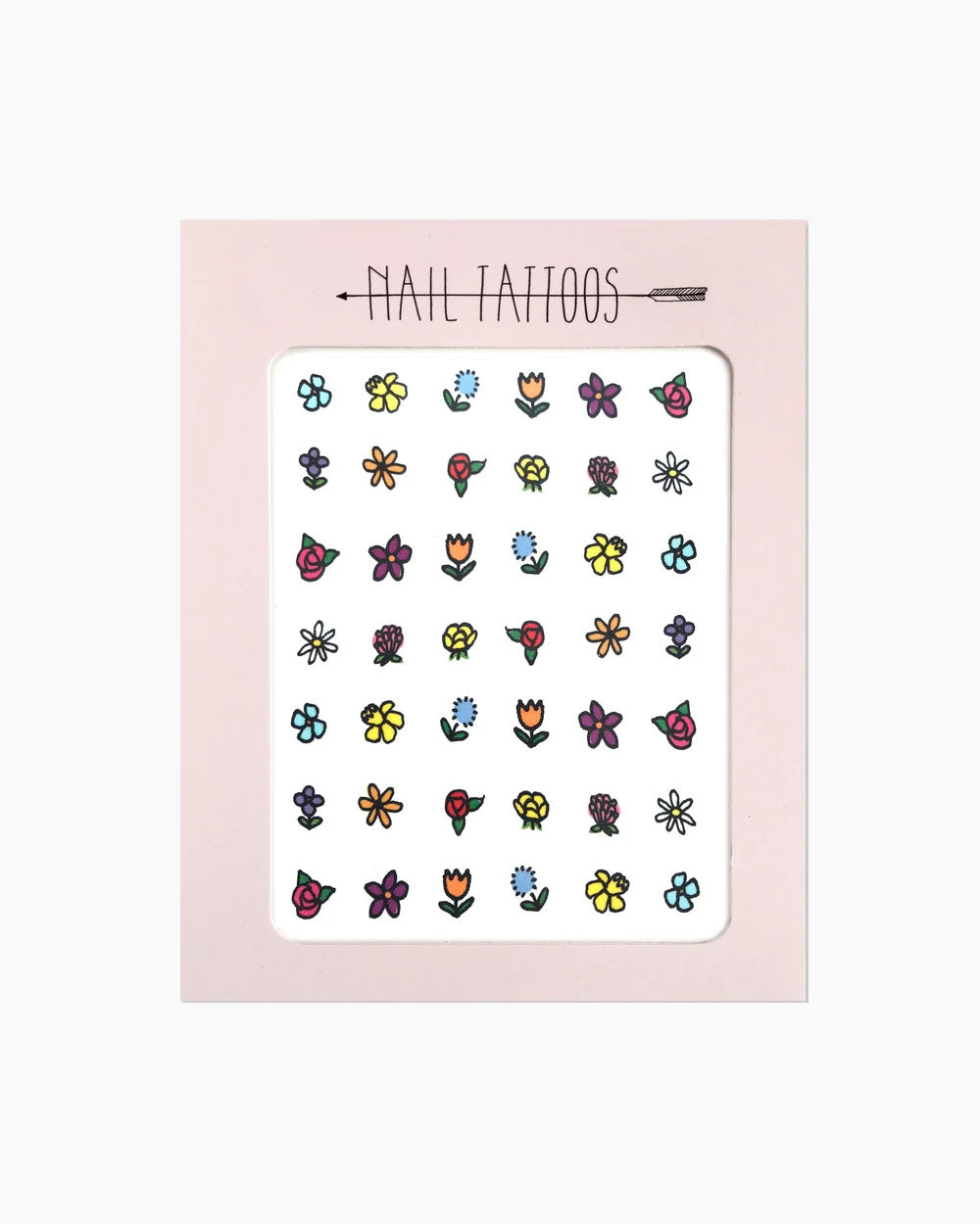 Florals Nail Tattoos