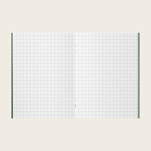 Traveler's Passport Notebook 002 - Grid
