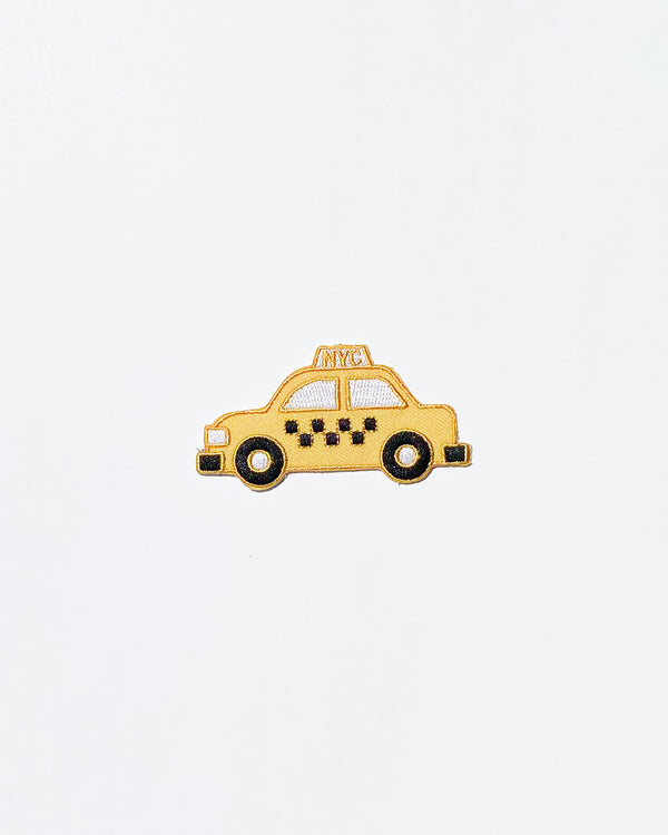 NYC Taxi Iron-On Patch