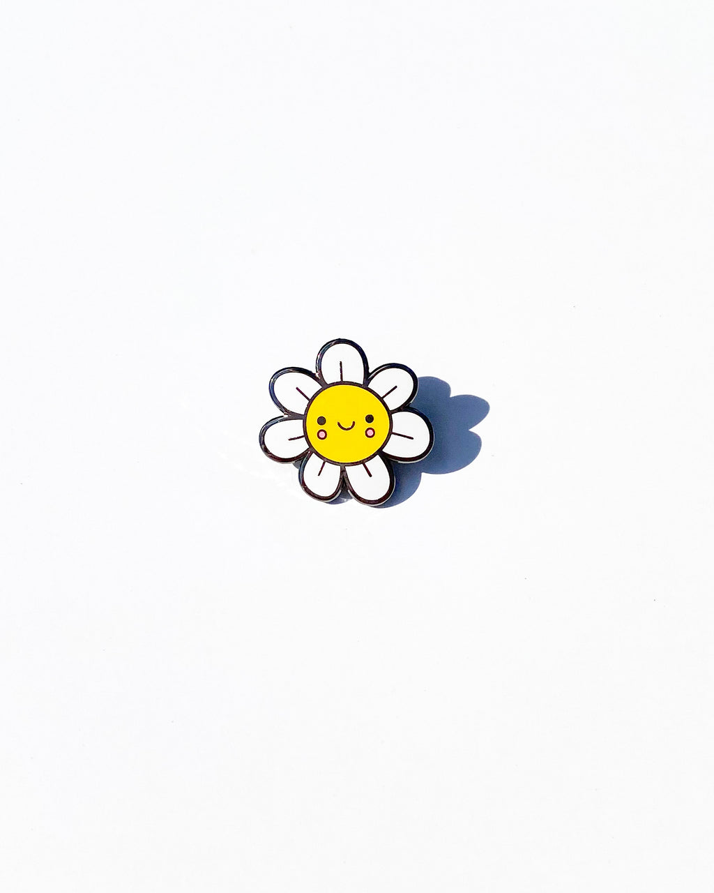 Happy Flower Enamel Pin