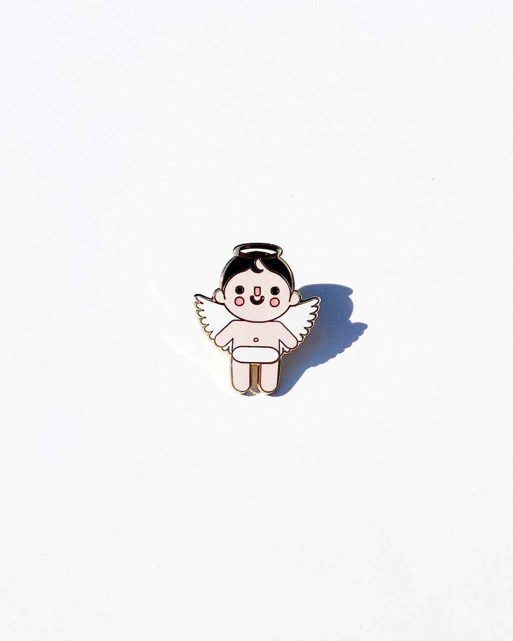 Angel Baby Light Enamel Pin