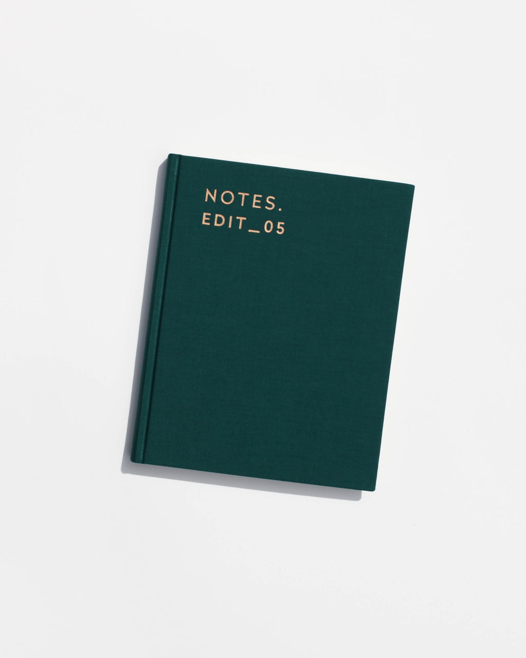 Notes Edit_05 Journal - Forest Green