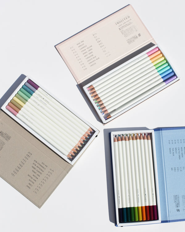 Irojiten Colored Pencil Set - Woodlands