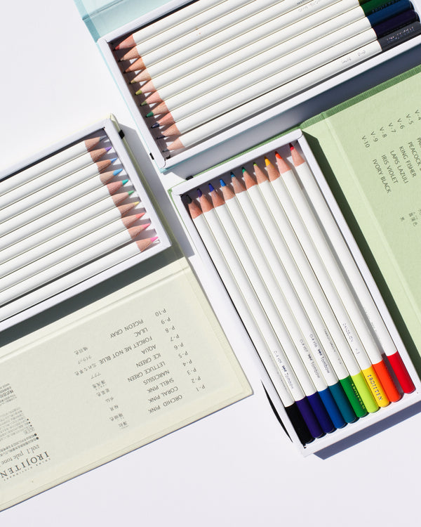 Irojiten Colored Pencil Set - Rainforest