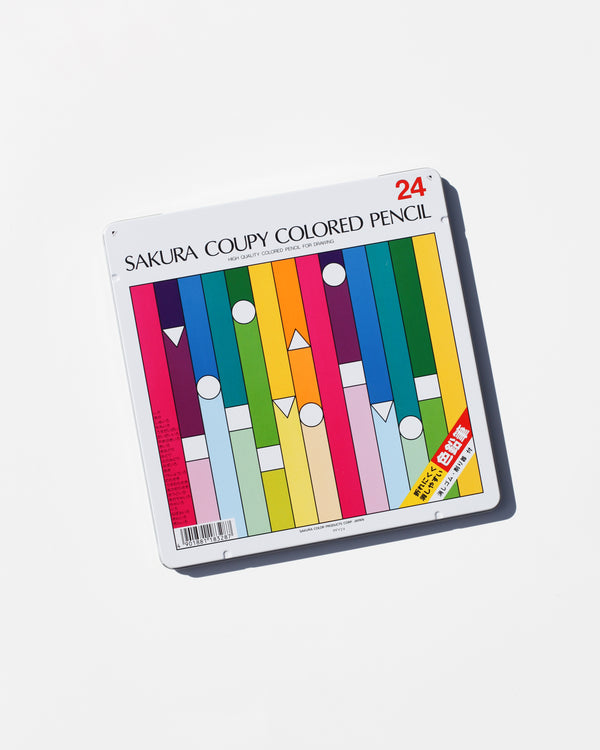 Coupy Colored Pencil 24 pc. set