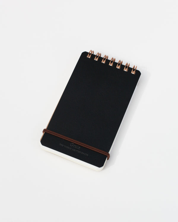 Grain Memo Pad - Black