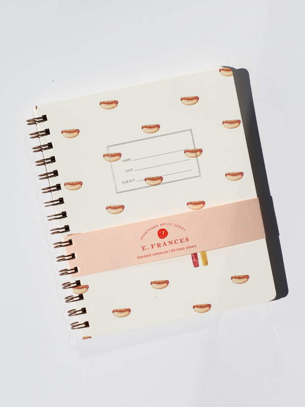 Standard Notebook - Hot Dogs