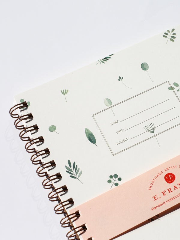 Standard Notebook - Plants