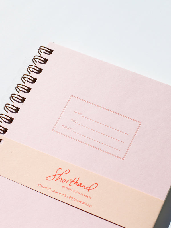 Standard Notebook - Pink Lemonade