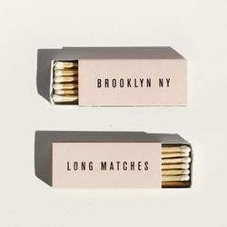 Pink/Gold Long Matches