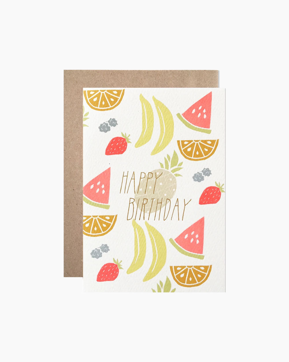 Neon Fruit Birthday