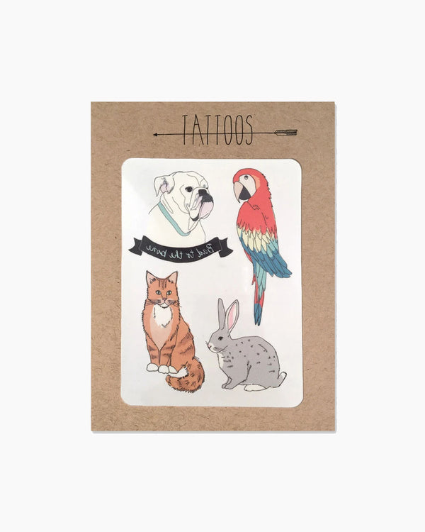 Pet Temporary Tattoos