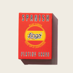 Lingo Spanish Playing Cards